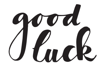 handletteren-good-luck-diy
